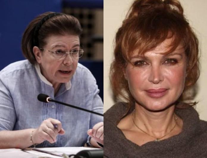 Καλύτερα Δε Γίνεται: Οργισμένη η Χριστίνα Θεωδοροπούλου - «Η κυρία Μενδώνη τα ήξερε όλα!»