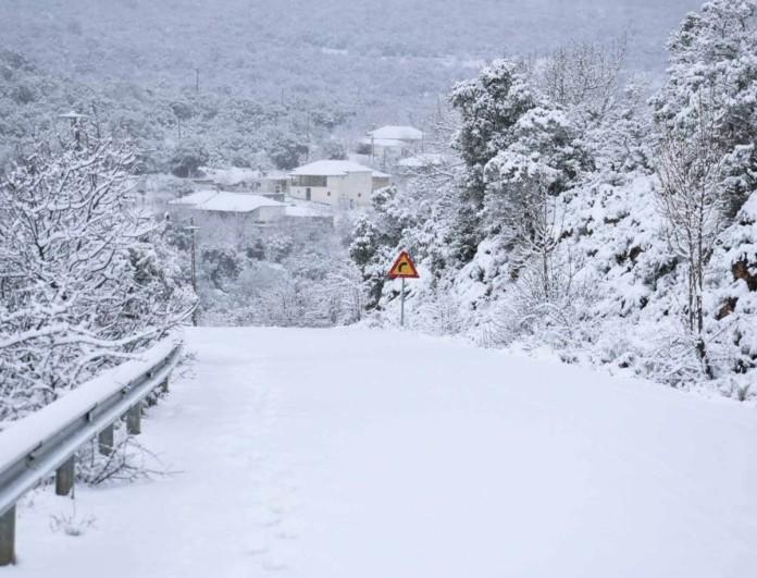 Μήδεια: Έρχονται τα χιόνια και στην Αττική - Στα λευκά η υπόλοιπη χώρα