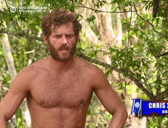 Survivor 4: Ξέσπασε ο Κρις - «Έφερα δύο νίκες και δεν μου έδωσαν ούτε ένα κομματάκι πίτσα»