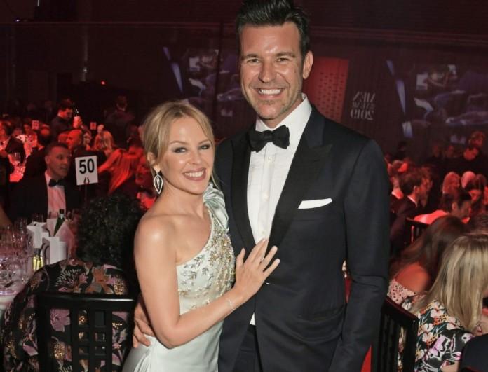 Αρραβωνιάστηκε η Kylie Minogue με τον Paul Solomons