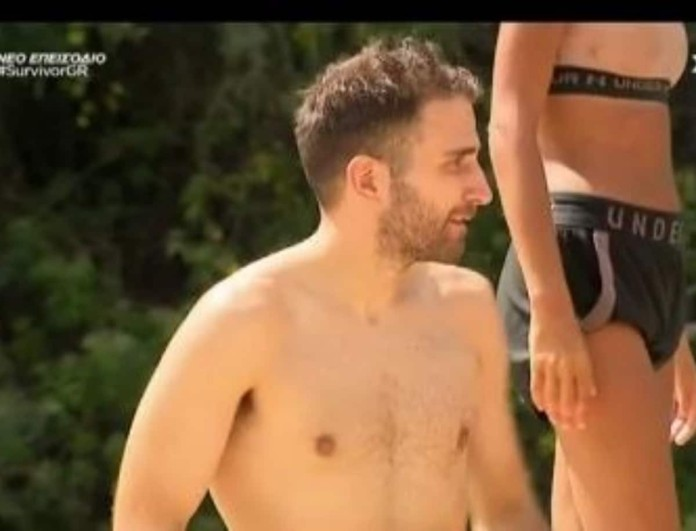 Survivor 4: Νευριασμένος ο Ηλίας με τον Δημήτρη Μακρόπουλο - «Άντε τρελάκια!»