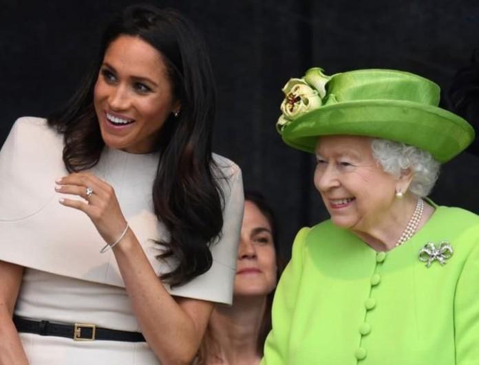 Βασίλισσα Ελισάβετ: Δηλώνει χαρούμενη με την εγκυμοσύνη της Μέγκαν