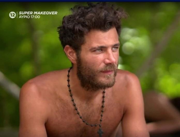 Survivor 4 - Μπάρτζης: «Θα ήθελα να είχε φύγει η Έλενα και όχι η Βαλέρια»