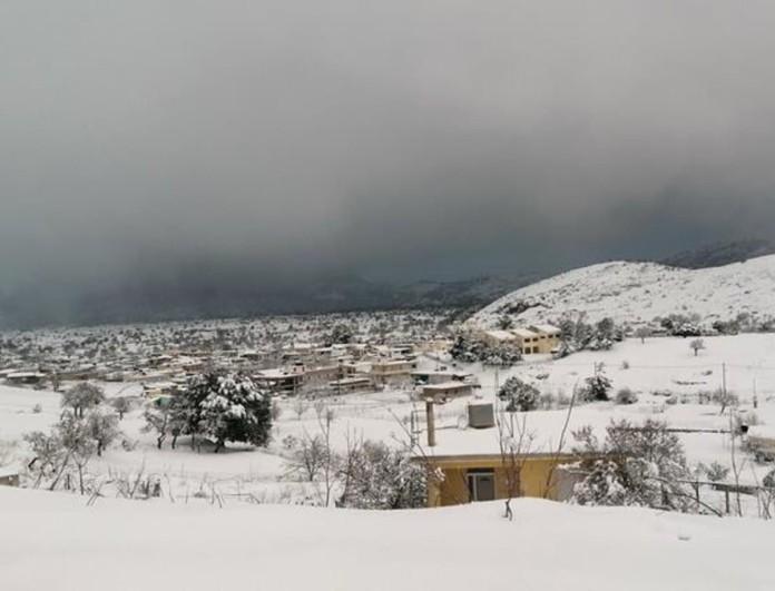 Κακοκαιρία Μήδεια: Δύο νεκροί από τον χιονιά