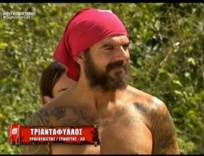 Survivor 4: Τριαντάφυλλος - «Ξέρω πως πολλοί θα με ψηφίσουν, έχουν κάνει ''κωλοτούμπα''»