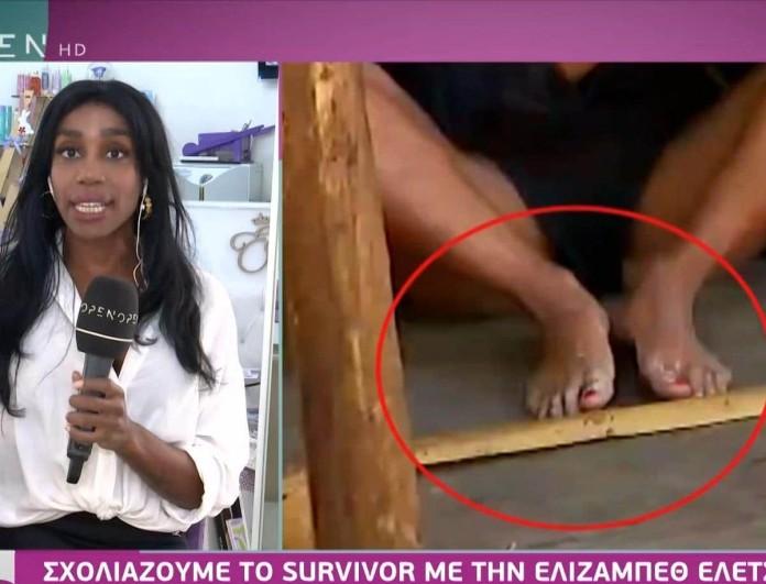Survivor 4 - Ελέτσι: «Από την αρχή η Ελευθερία έχει κόκκινο χρώμα στα νύχια»