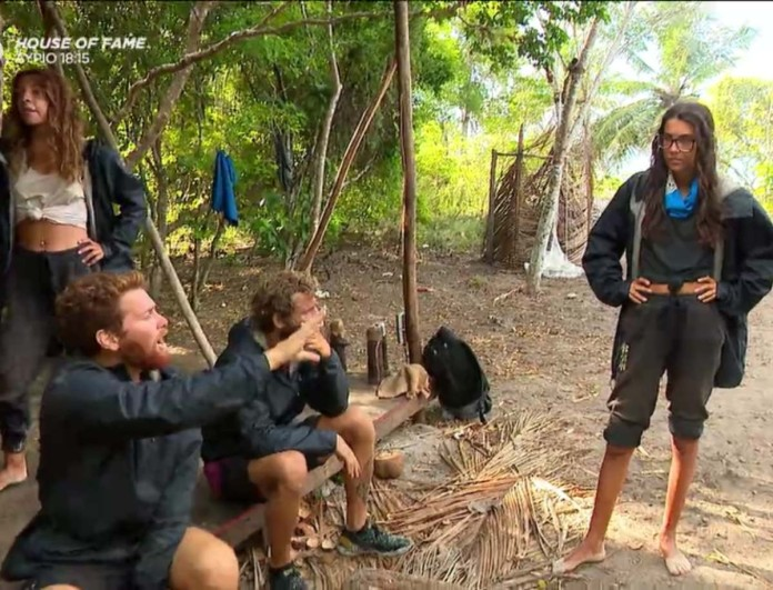 Survivor 4 - Τζέιμς σε Ελευθερία: «Νομίζεις ότι είμαι χαζός;»