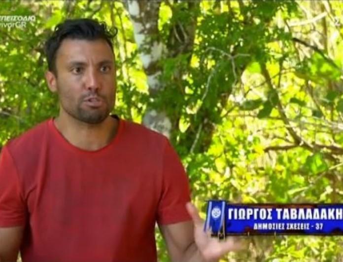 Survivor 4 - Ταβλαδάκης: «Εδώ μέσα γίνονται Σόδομα και Γόμορρα»
