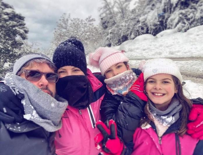 Αντελίνα - Χάρης Βαρθακούρης: Χωρίς ρεύμα, τηλέφωνο και internet η οικογένεια
