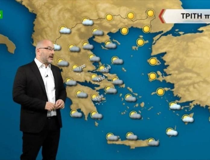 Σάκης Αρναούτογλου: «Κρύο και επάνοδος του άστατου καιρού»