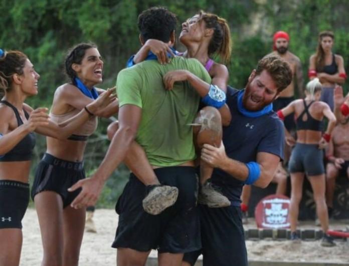 Survivor 4: Νικητές του δεύτερου αγώνα ασυλίας οι Μπλε