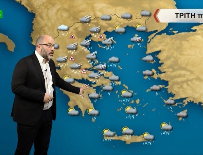 Σάκης Αρναούτογλου: Επιστρέφει ο χιονιάς στην Αττική μέχρι την 25η Μαρτίου