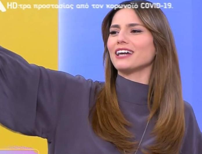 Pop Up: Στο πλατό της εκπομπής η μητέρα της Ηλιάνας Παπαγεωργίου