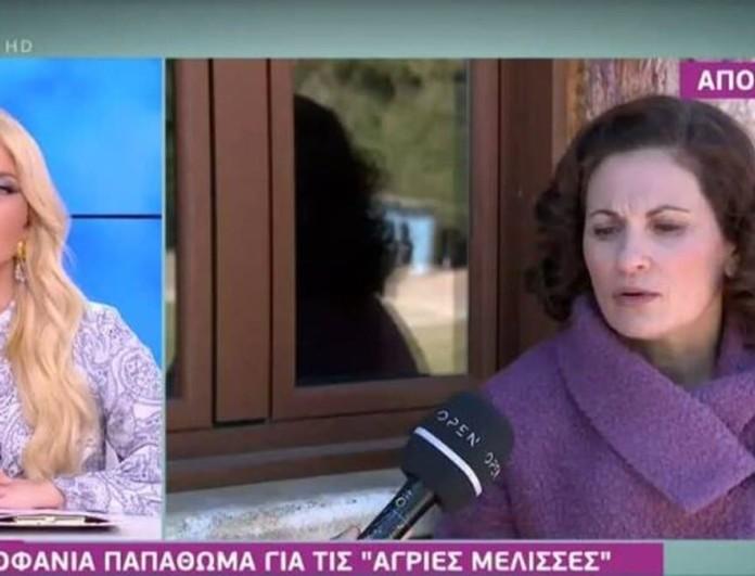 Άγριες Μέλισσες - Θεοφανία Παπαθωμά: «Η Βιολέτα δεν έχει παιδί. Δεν θα εμφανιστεί κανένα παιδί ποτέ»