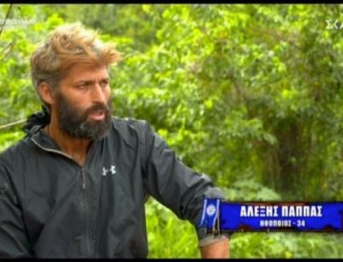 Survivor 4 - Αλέξης Παππάς: «Η Άννα Μαρία που χάιδευε τα μαλλιά πριν το συμβούλιο»