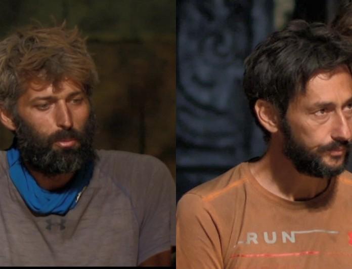 Survivor 4: Υποψήφιοι προς αποχώρηση ο Πάνος Καλίδης και ο Αλέξης Παππάς