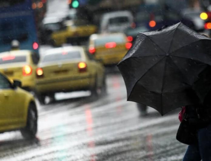 Βροχερός ο καιρός σήμερα 17/3 - Η θερμοκρασία θα σημειώσει μικρή πτώση