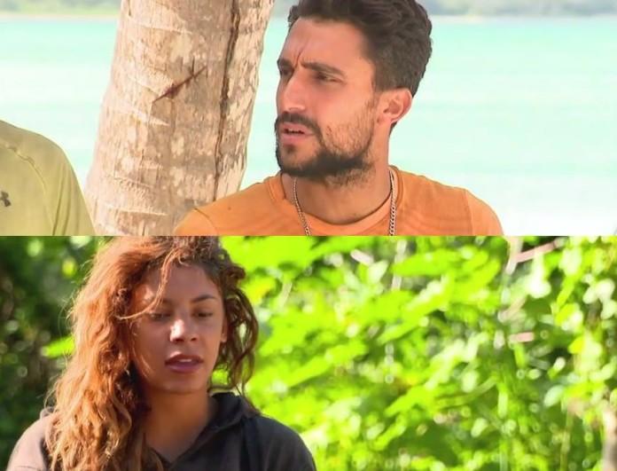 Survivor 4: Μαριαλένα και Σάκης έχουν έρθει αρκετά κοντά