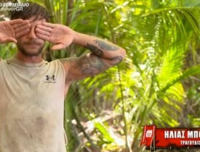 Survivor 4: Ξέσπασε σε κλάματα o Ηλίας Μπόγδανος
