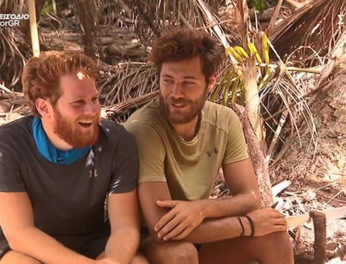 Survivor 4 - Τζέιμς: «Άστους να μαλώνουν να βρούμε κι εμείς την ησυχία μας»