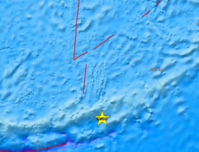 Σεισμός τώρα 6 Ρίχτερ στη Νέα Καληδονία