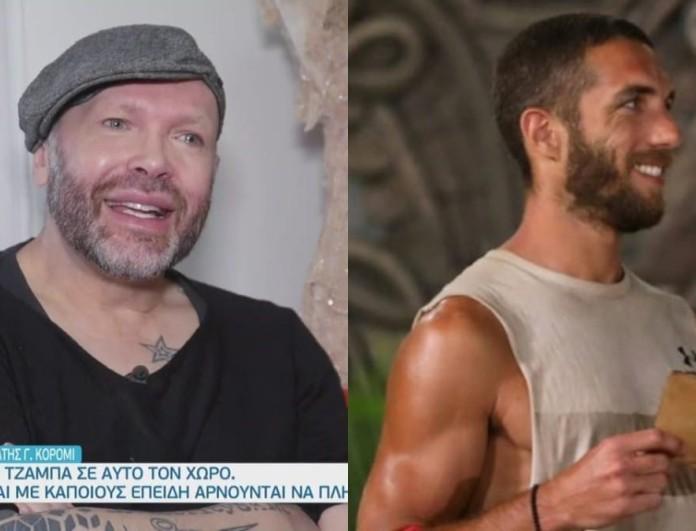 Survivor 4 - Δημήτρης Στρέπκος: «Ο Κόρο δεν πολυμιλάει, είναι πολύ