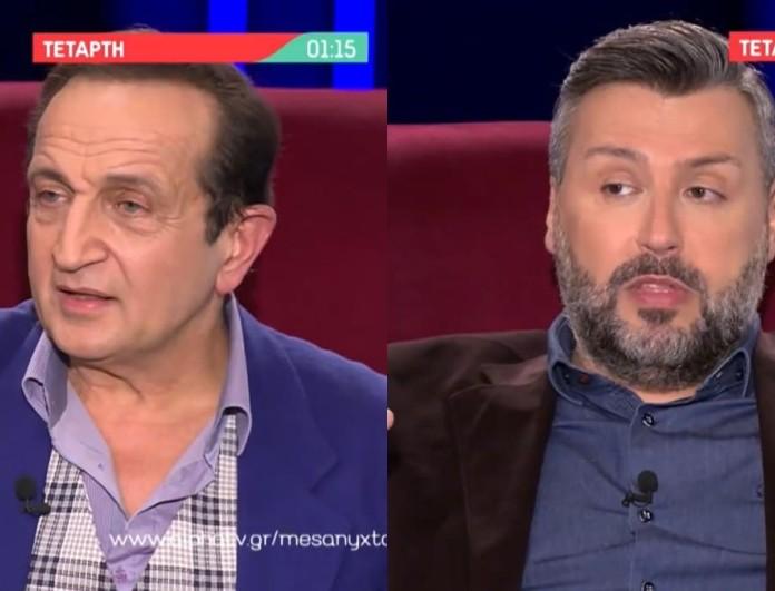 Μεσάνυχτα: Ο Σπύρος Μπιμπίλας και ο Γιάννης Καλλιάνος καλεσμένοι της Ελεονώρας Μελέτη