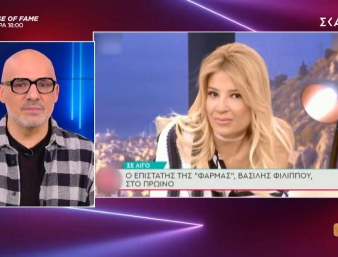 Νίκος Μουτσινάς: «Δεν το έχουν μαζί το Πρωινό ο Λιάγκας και η Σκορδά»