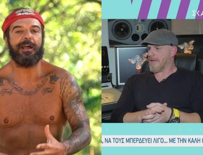 Survivor 4 - Φίλος Τριαντάφυλλου: «Του αρέσει η ίντριγκα, να τους μπερδεύει λίγο»