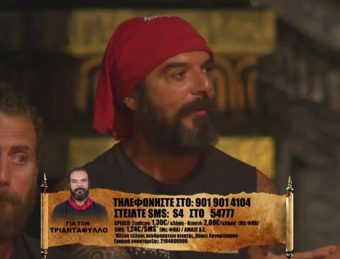Survivor 4: Tα έβαλε ο Τριαντάφυλλος με τον Κόρο - «Θα μπορούσες να μου το έχεις πει, έτσι κάνουν οι φίλοι»