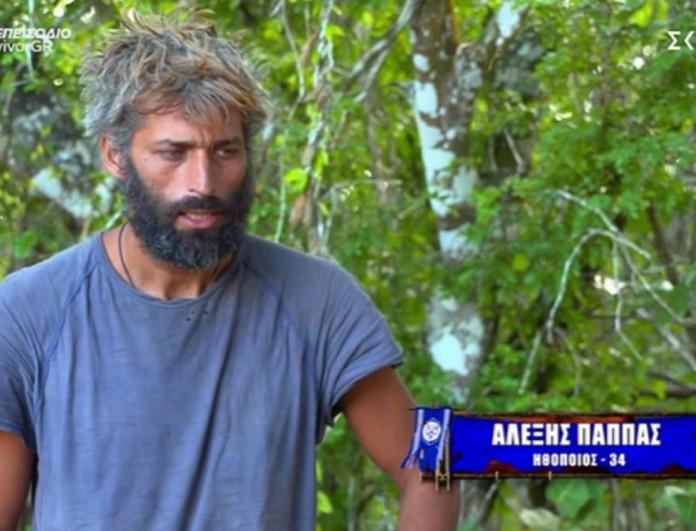 Survivor 4: Αλέξης Παππάς για αποχώρηση Κρις - «Είμαι ακόμα συγκλονισμένος από το σοκ»