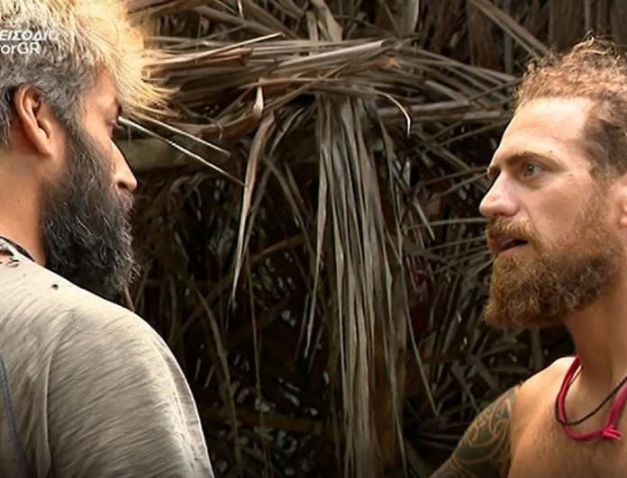 Survivor 4: Πήγαν να πιαστούν στα χέρια Παππάς - Παπαδόπουλος και τους χώρισε ο Σάκης