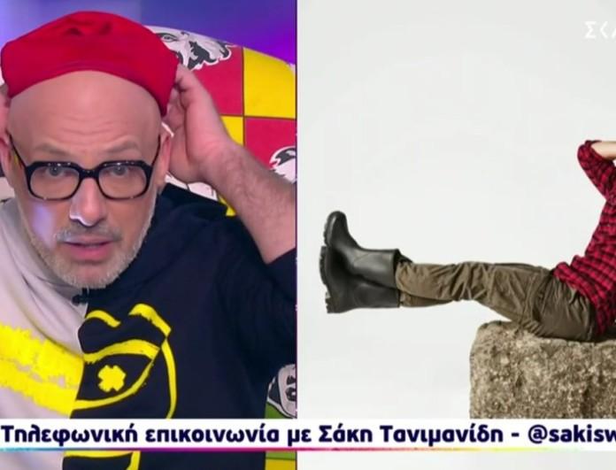 Σάκης Τανιμανίδης: «Μου λείπει το Survivor, ο Λιανός είναι καταπληκτικός»