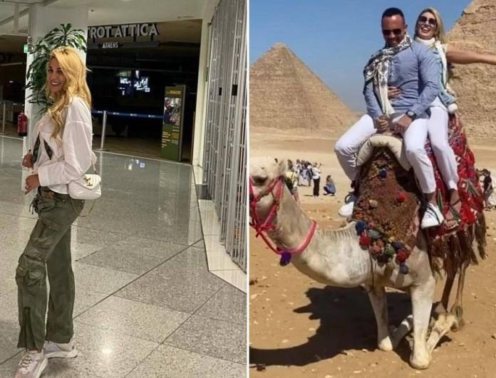 Σπυροπούλου - Σταθοκωστόπουλος: Η ρομαντική αμαξάδα τους στην Αίγυπτο