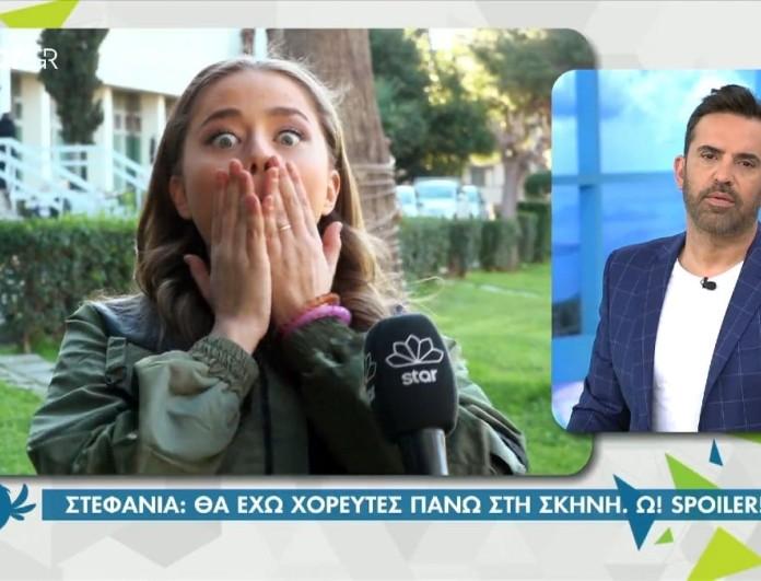 Στεφανία Λυμπερακάκη: Έδωσε κατά λάθος spoiler για τη συμμετοχή της στη Eurovision