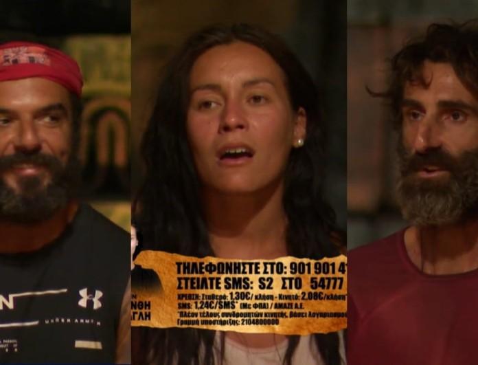 Survivor 4: Η Μαριάνθη, ο Γιώργος Κοψιδάς και ο Τριαντάφυλλος οι υποψήφιοι προς αποχώρηση