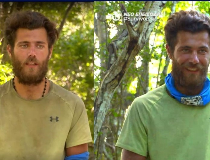 Survivor 4: Ο Νίκος Μπάρτζης έπλυνε την μπλούζα του - Έγινε και πάλι πράσινη