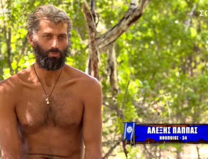 Survivor 4 - Αλέξης Παππάς: «Υπάρχει ζηλοφθονία από την μεριά της τριάδας»