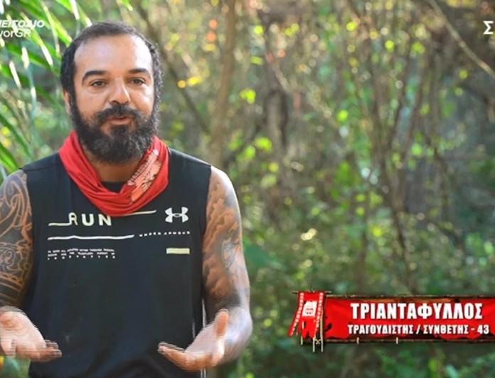 Survivor 4 - Τριαντάφυλλος: «Ο Τζέιμς φοβάται πολύ τον Σάκη»