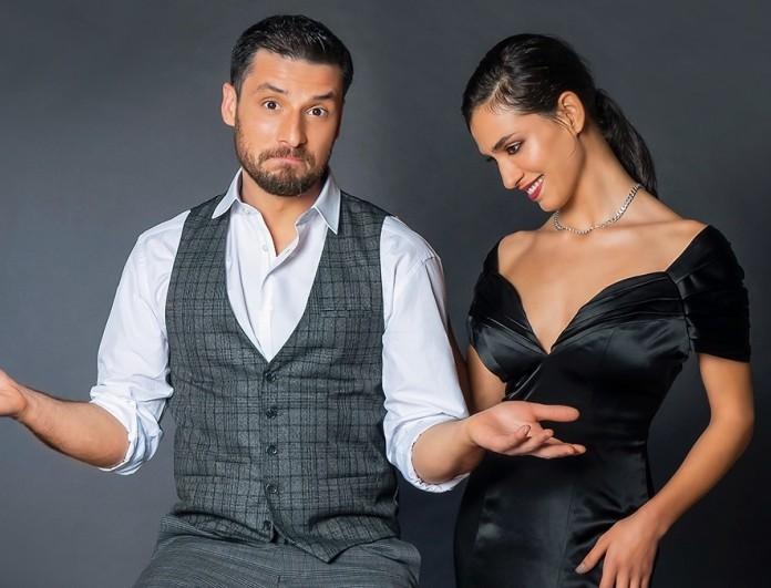 Η Μαρία Χάνου και ο Σπύρος Χατζηαγγελάκης στο περιοδικό You!