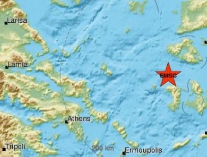 Σεισμός τώρα 3,6 Ρίχτερ στη Χίο