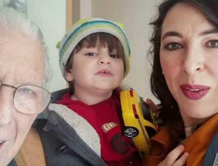 Αλίκη Κατσαβού: Συγκίνησε με τις φωτογραφίες του Κώστα Βουτσά με τον μικρό Φοίβο
