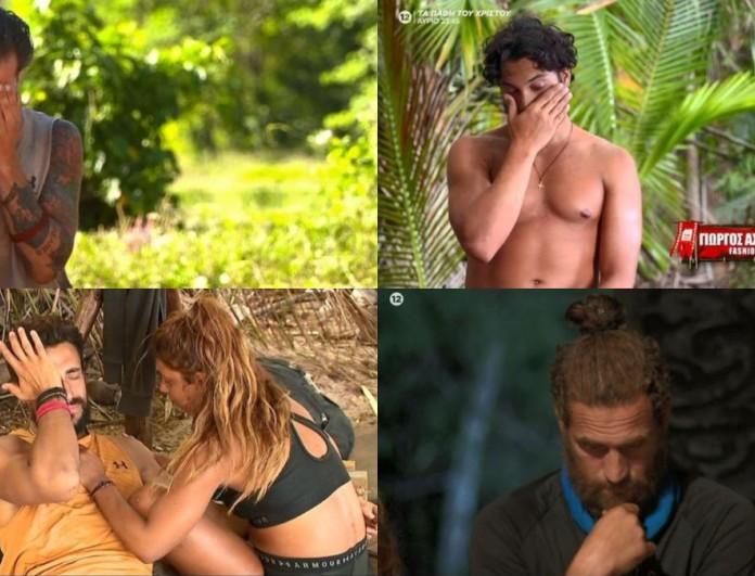 Survivor 4 highlights 28/4: Τα κλάματα των παικτών με το έπαθλο και η αποχώρηση του Παπαδόπουλου