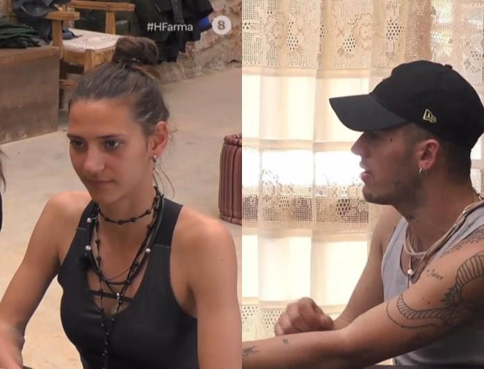 Φάρμα: Μαρία Μιχαλοπούλου και Τάσος Ξιαρχό οι υπηρέτες αυτής της εβδομάδας