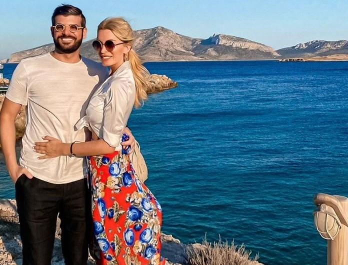 Κατερίνα Καινούργιου - Φίλιππος Τσαγκρίδης: Έτσι θα περάσει τις μέρες του Πάσχα το ζευγάρι