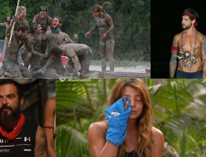 Survivor 4 Highlights (5/4): Οι καυγάδες του Παππά, ο «χωρισμός» του Σάκη και της Μαριαλένας και η ψηφοφορία
