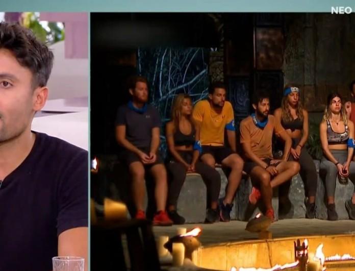 Ταβλαδάκης: «Η Μαριαλένα δεν γνώριζε ότι ο Σάκης θα μπει στο Survivor 4! Τον είχαν κόψει»