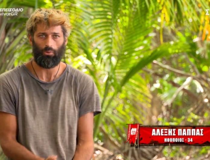 Survivor 4 - Αλέξης Παππάς: «Ο Τζέιμς είναι η κύρια αιτία του κακού»