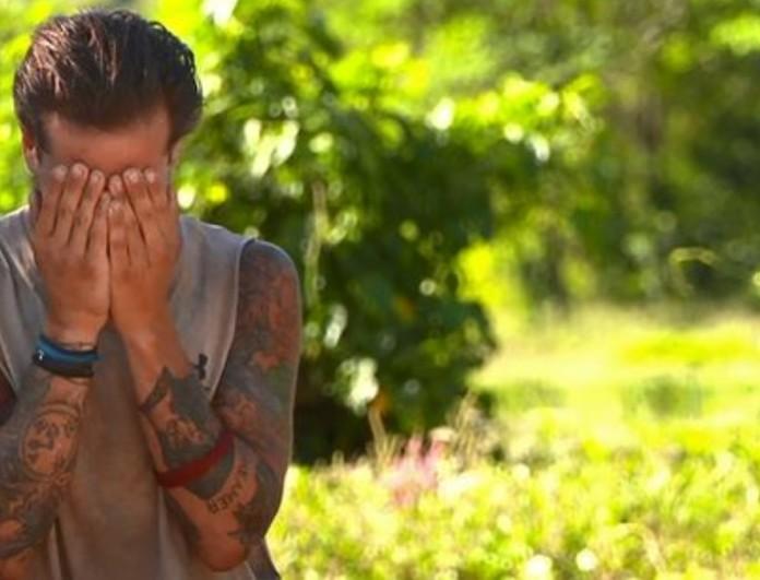 Survivor 4: Πλάνταξε ΠΑΛΙ στο κλάμα ο Ηλίας Μπόγδανος!