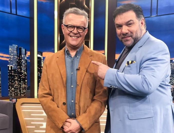 The 2night Show: Καλεσμένοι του Γρηγόρη Αρναούτογλου ο Μιχάλης Ρέππας και ο Ρένος Χαραλαμπίδης